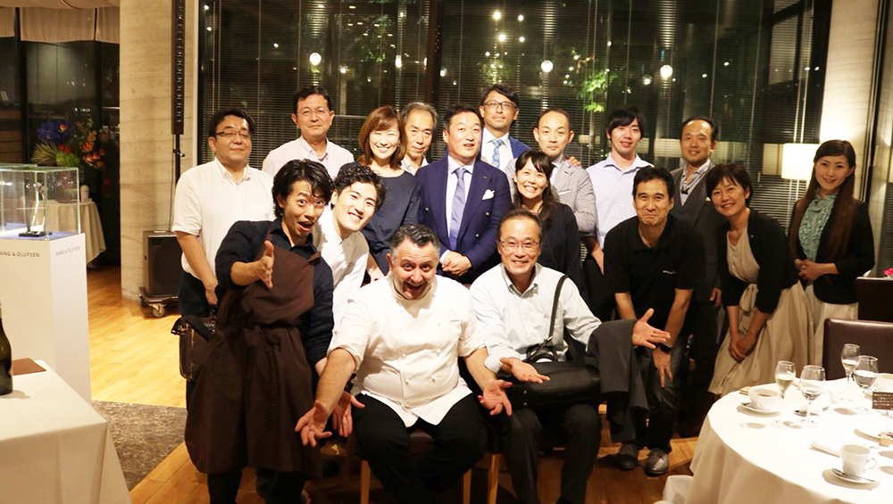 2018.8.10(fri),11(sat) Eros Picco氏special dinner course02